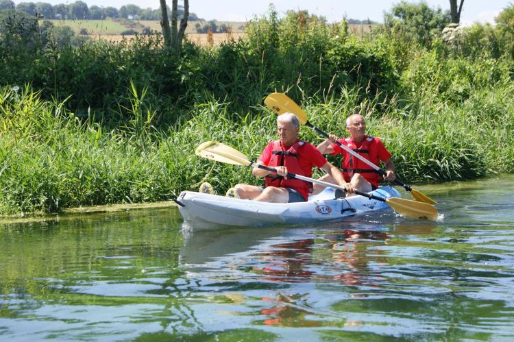 Kayak rivière - Randonnée au départ de PALUEL