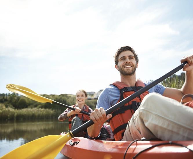 Kayak - Séance multisports au Lac de CANIEL