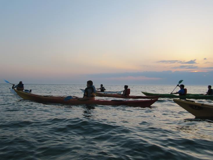 Kayak mer - Randonnée au départ de VEULETTES-SUR-MER