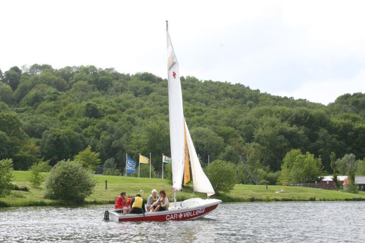 Dériveur collectif - Séance découverte au Lac de CANIEL