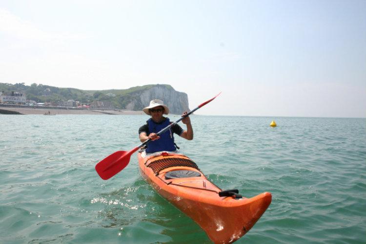 Kayak mer- Séance multiglisse à VEULETTES-SUR-MER